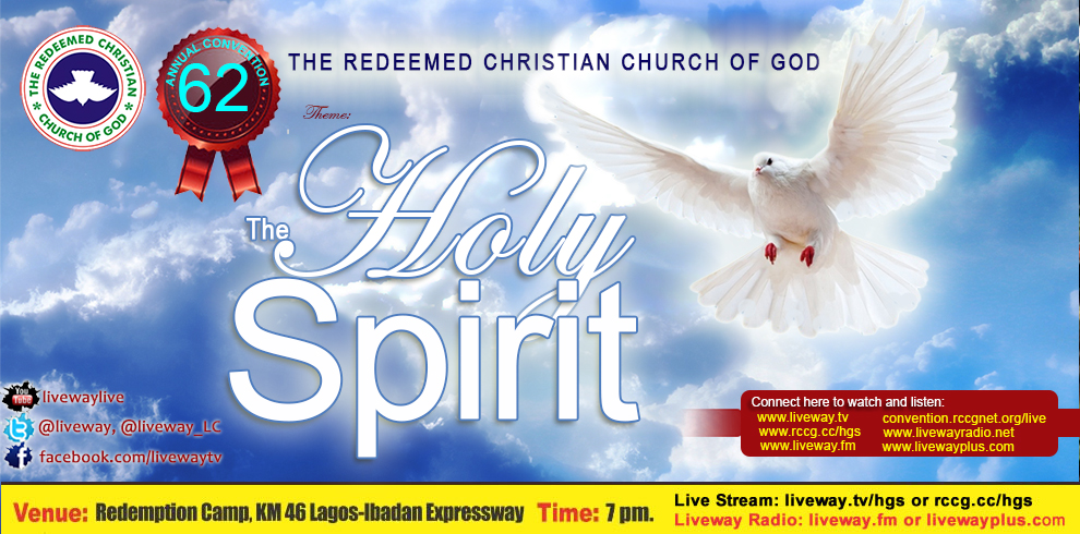 "62nd Annual Convention. ""The Holy Spirit"""